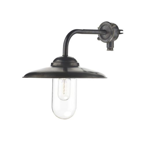 David Hunt Lighting, Nautilus Wall Light Old Iron Outdoor IP44, NAU1539 (7-10 day Delivery)